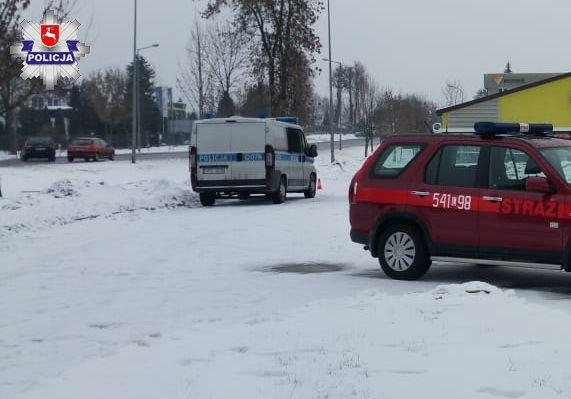 68 141490 Alarm bomowy w Biedronce - zatrzymano trzech żartownisiów (ZDJĘCIA)