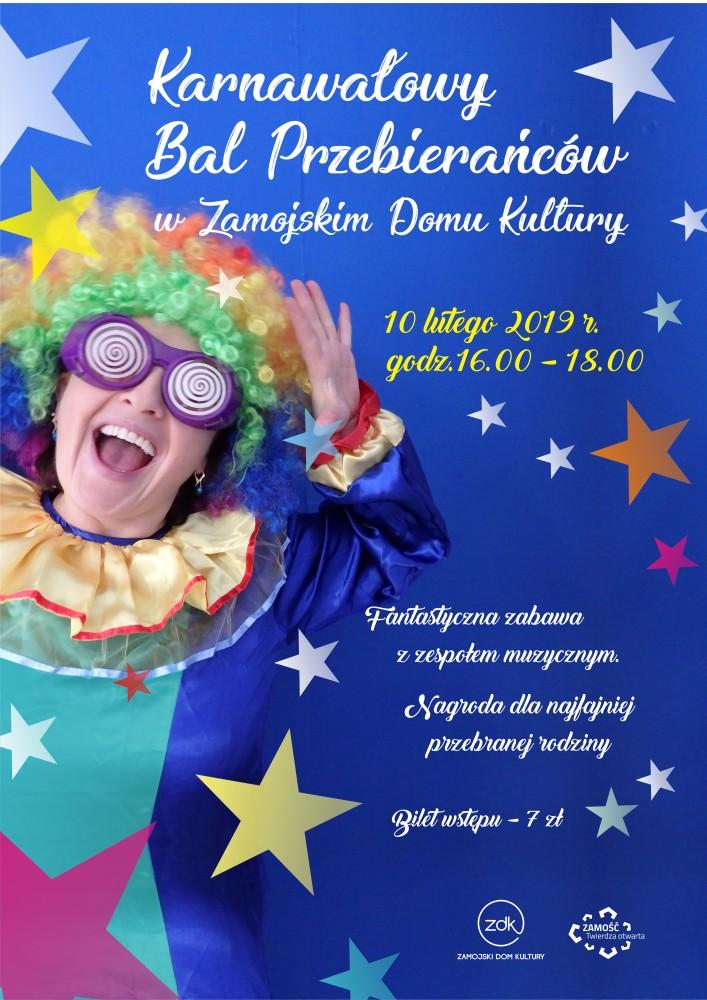 karnawalowy bal www Karnawałowy Bal Przebierańców w ZDK