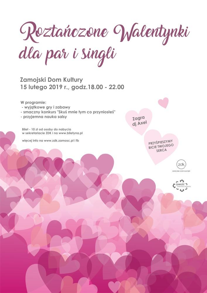 walentynki www Zamość: Roztańczone Walentynki w ZDK-u