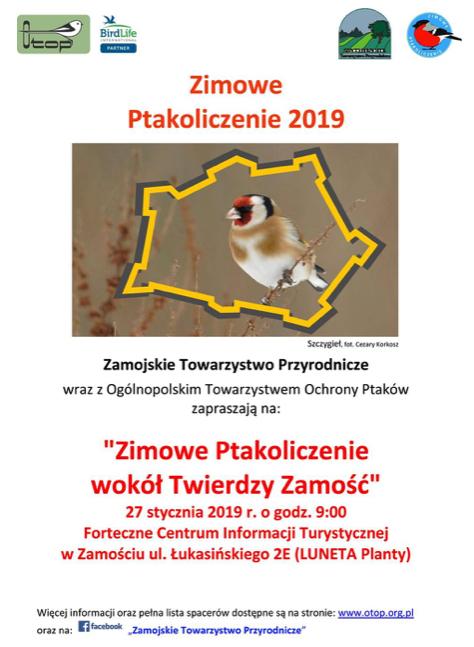 zrzut ekranu 2019 01 25 o 11 49 30 Policzą skrzydlatych mieszkańców Zamościa