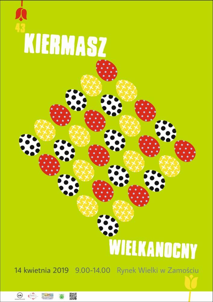 19 kiermasz plakat www Zamość: Przed nami tradycyjny Kiermasz Wielkanocny. Ruszyły zapisy dla sprzedawców!