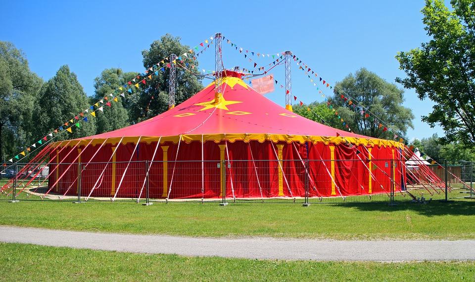 circus 366142 960 720 Cyrk Kijowski zagości w zamojskim parku.