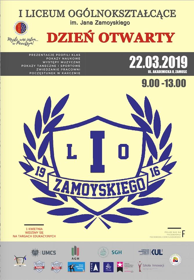 zrzut ekranu 2019 03 21 o 12 06 13 Jutro Dzień Otwarty w I LO w Zamościu