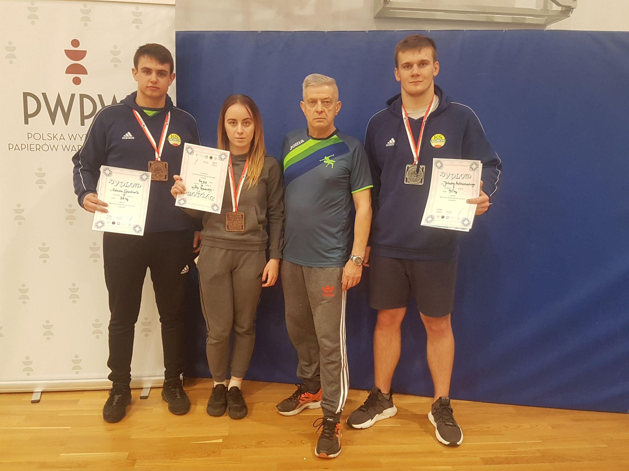 57284356 275871093358781 4914580615518486528 n Zawodnicy Agrosu z Międzyzdrojów wrócili z medalami!