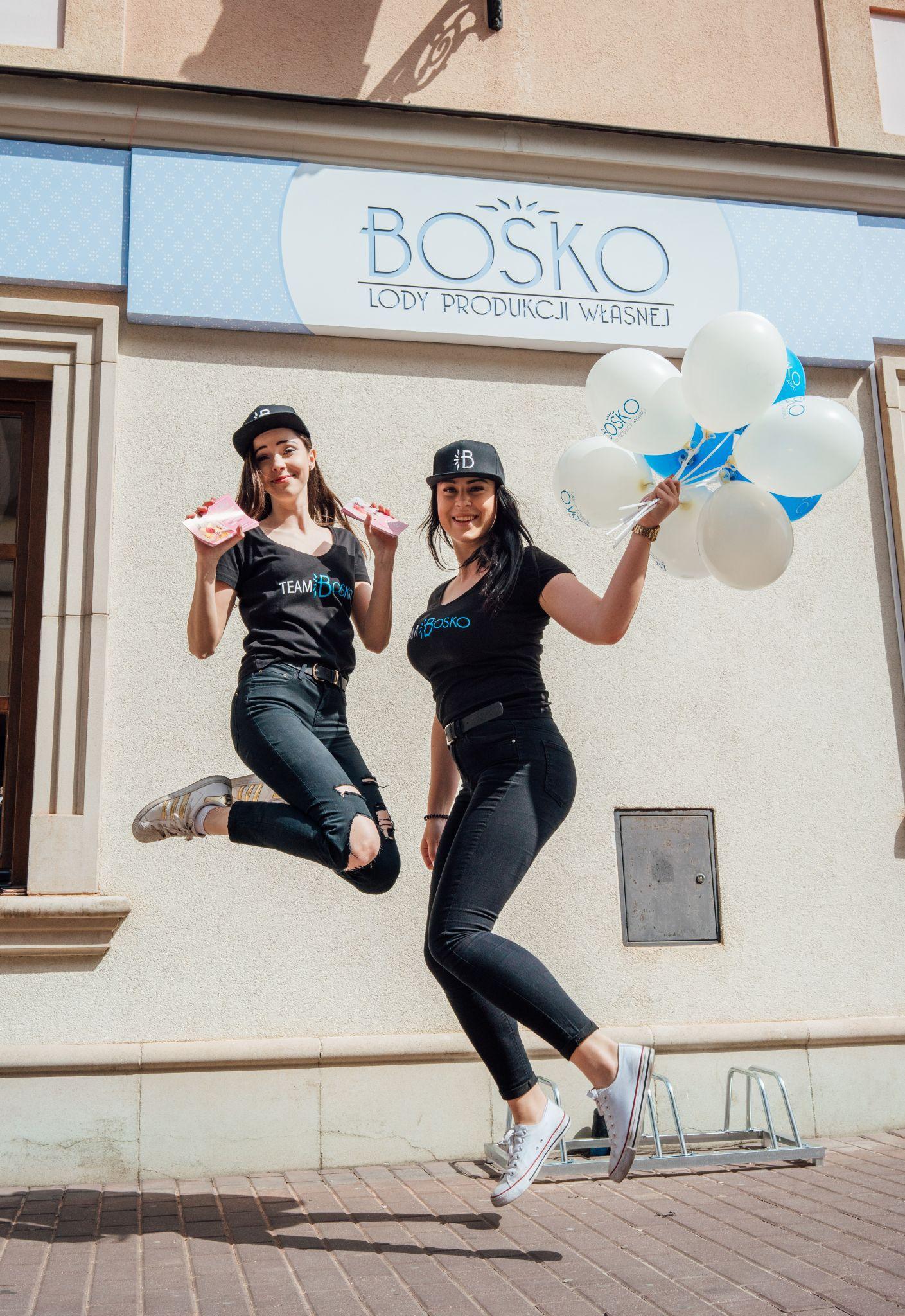 dsc01326 Otwarcie pierwszej lodziarni BOSKO!