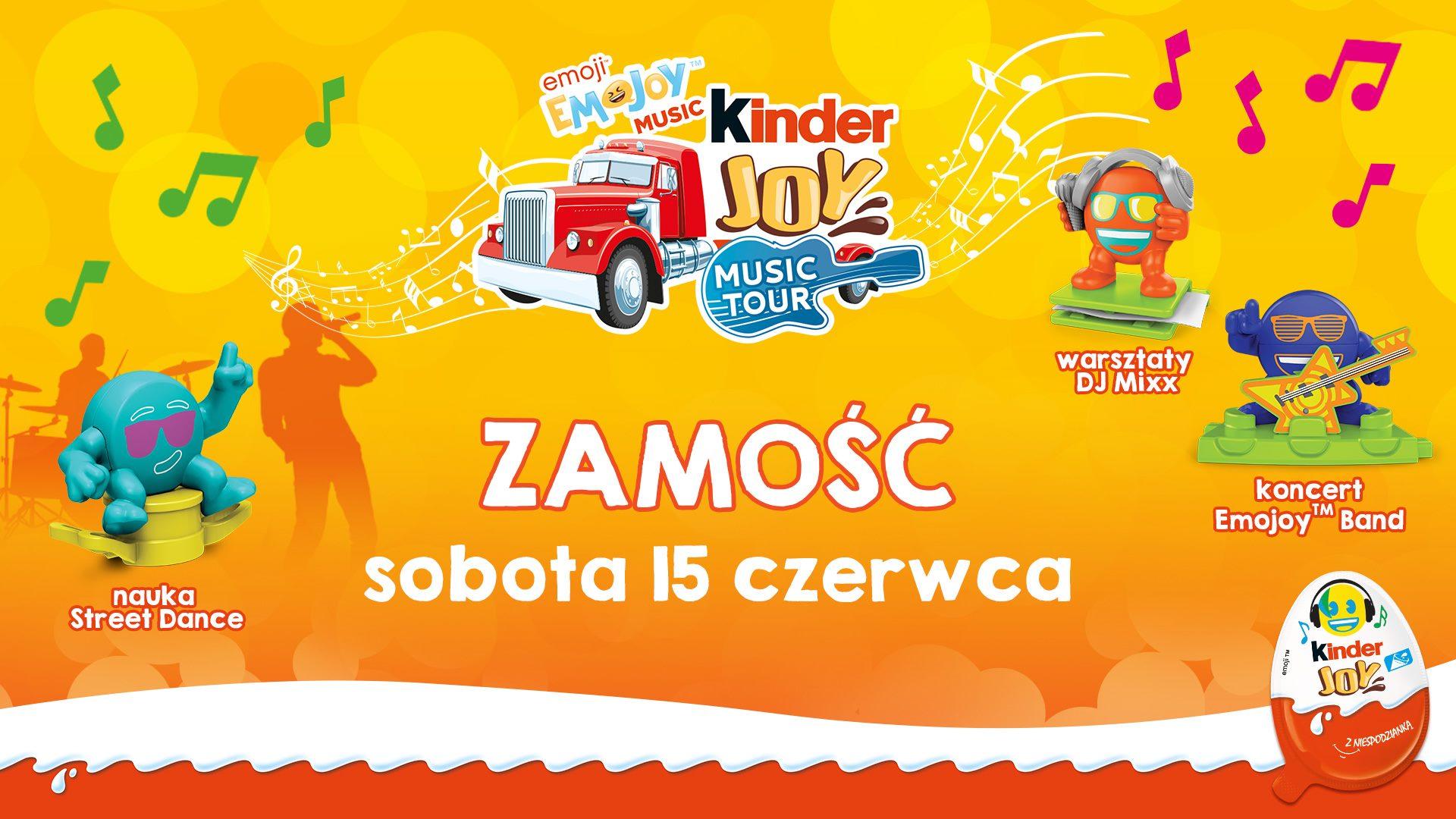 59846904 10156726890763451 5847221648469524480 o Kinder Joy Road Show ponownie w Zamościu