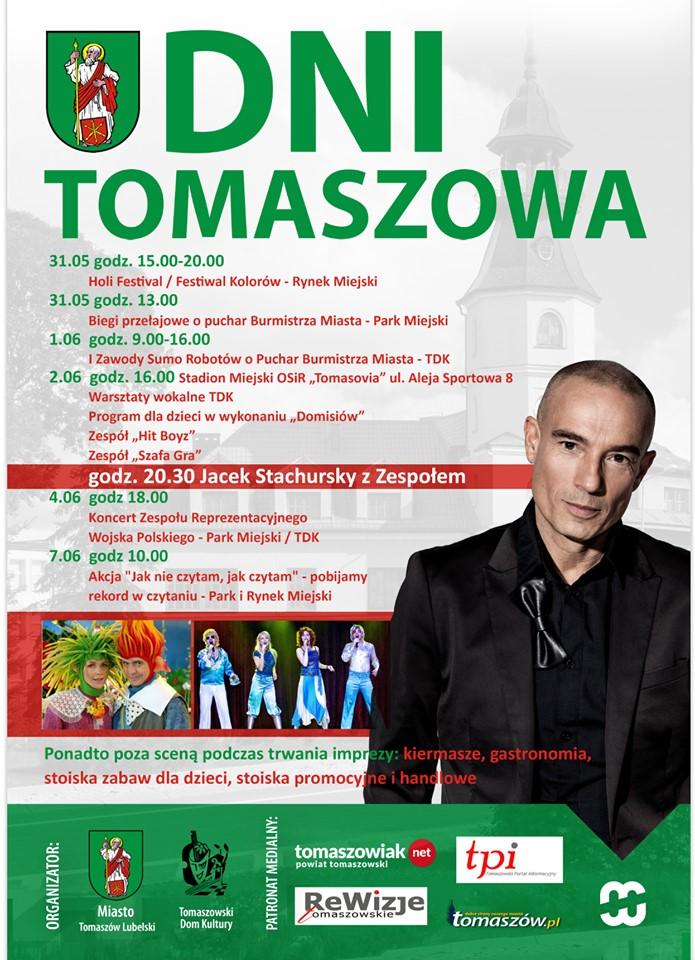60466915 2511969225502751 9039696042454417408 n Dni Tomaszowa 2019. Holi Festival i koncert Stachurskiego