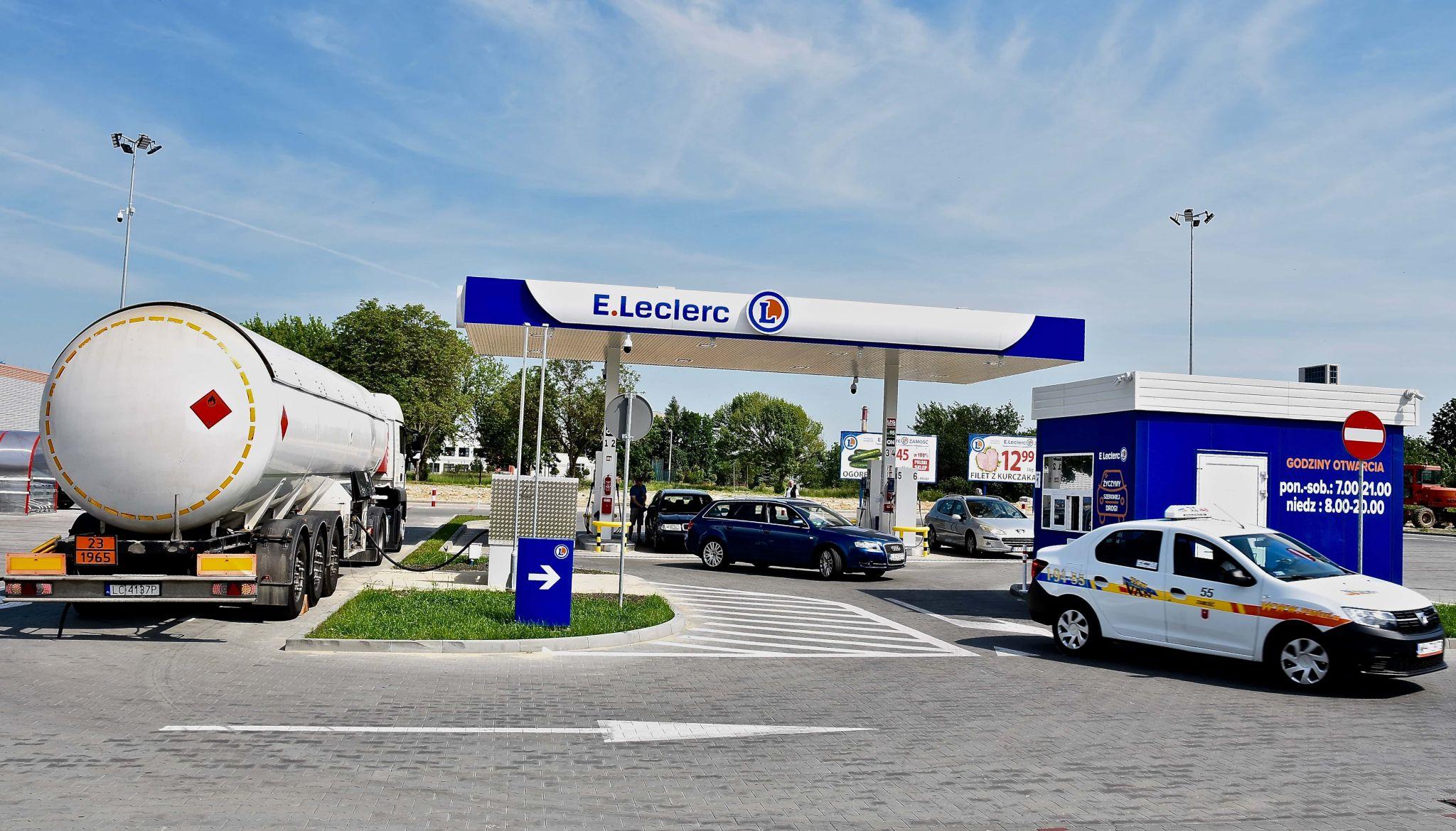 dsc 8878 Wczoraj obniżka, dzisiaj jeszcze taniej na stacji E.Leclerc w Zamościu!
