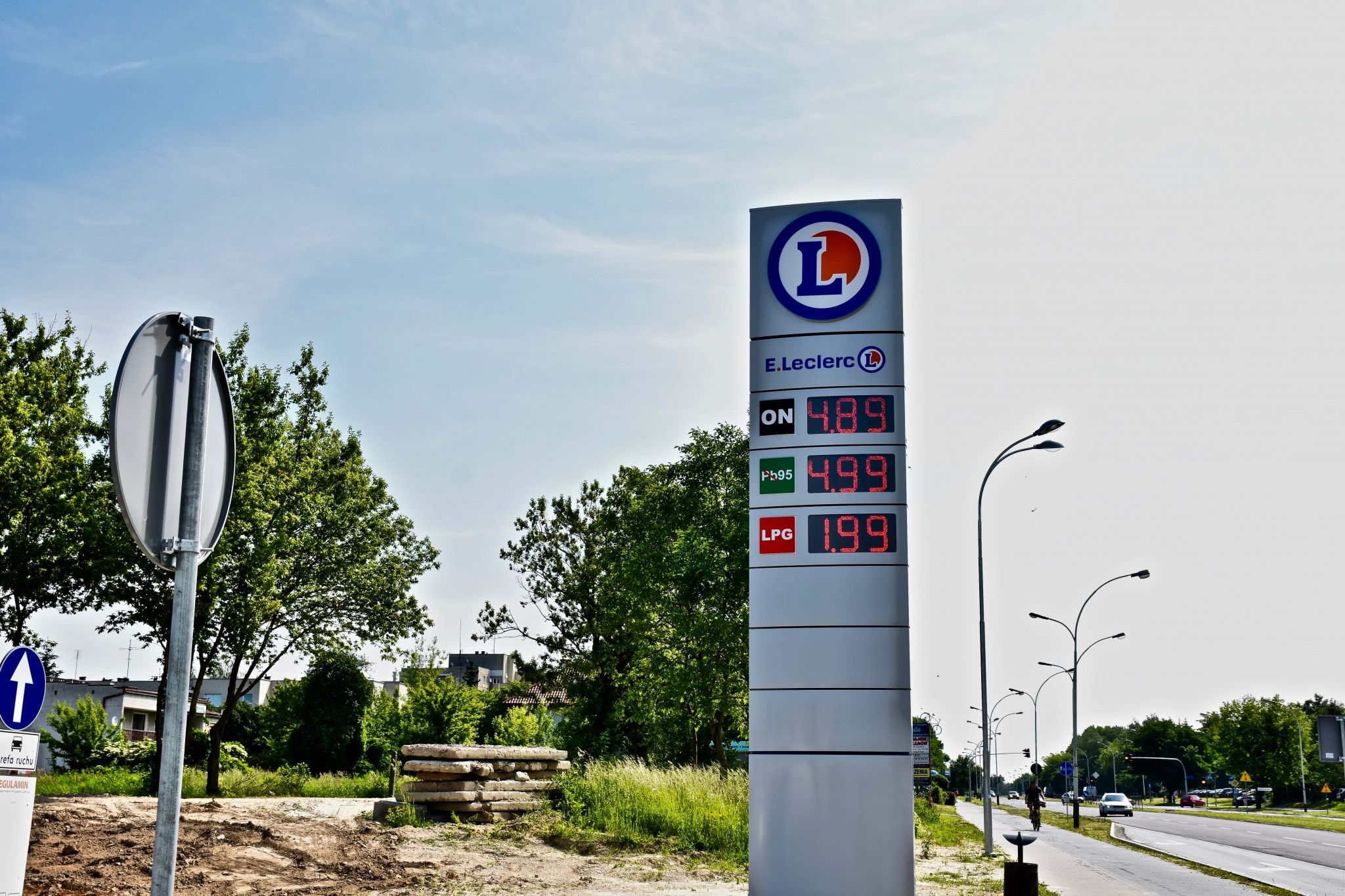 dsc 8880 Wczoraj obniżka, dzisiaj jeszcze taniej na stacji E.Leclerc w Zamościu!