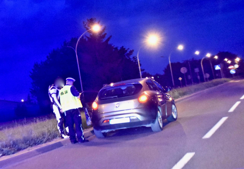 dsc 8890 Zamość: Wypadek motocykla. 19-letnia pasażerka jednośladu trafiła do szpitala (zdjęcia)