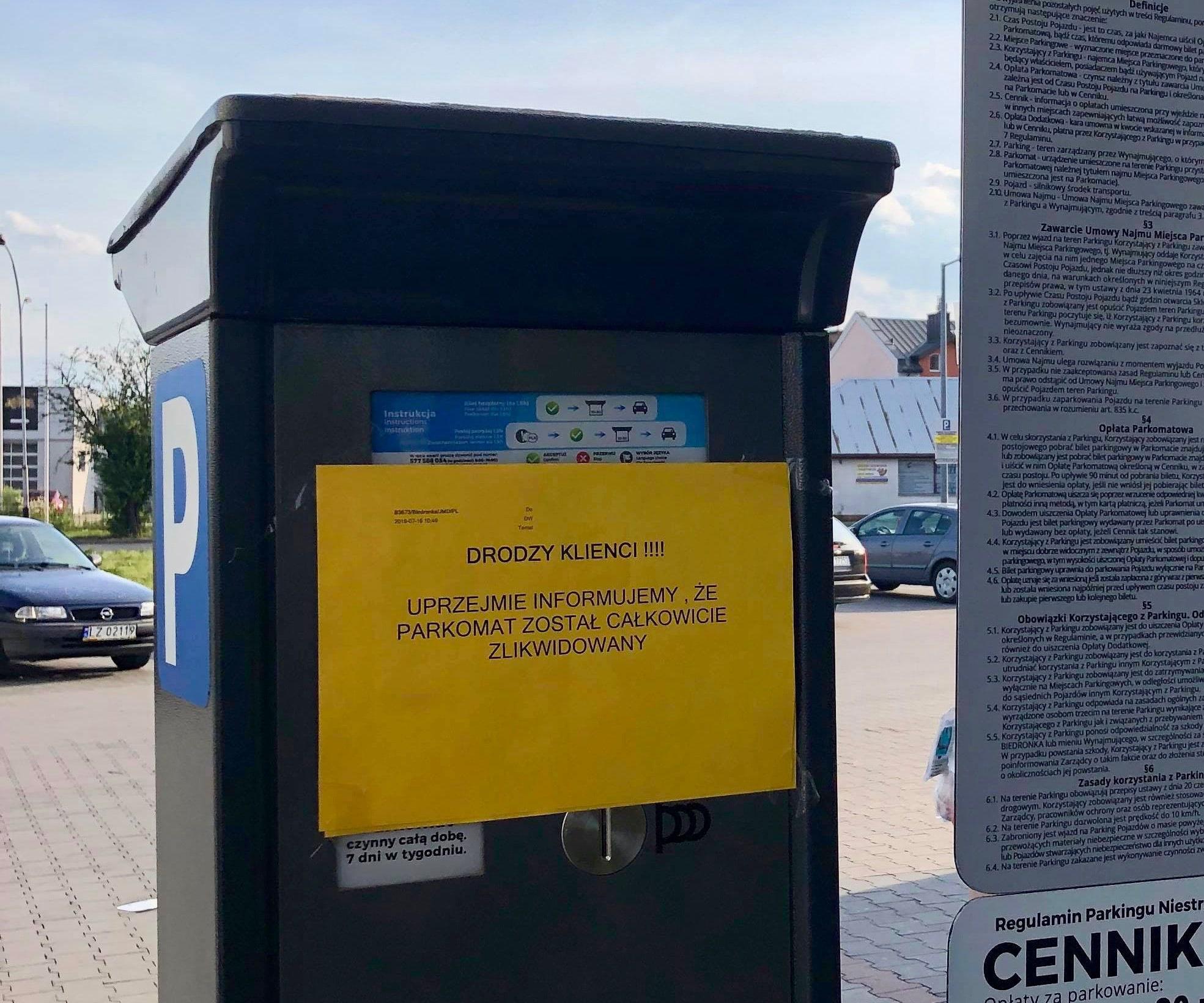 67307831 934922426847451 7982176829622452224 n 2 Koniec kontrowersyjnego parkowania przy Biedronce
