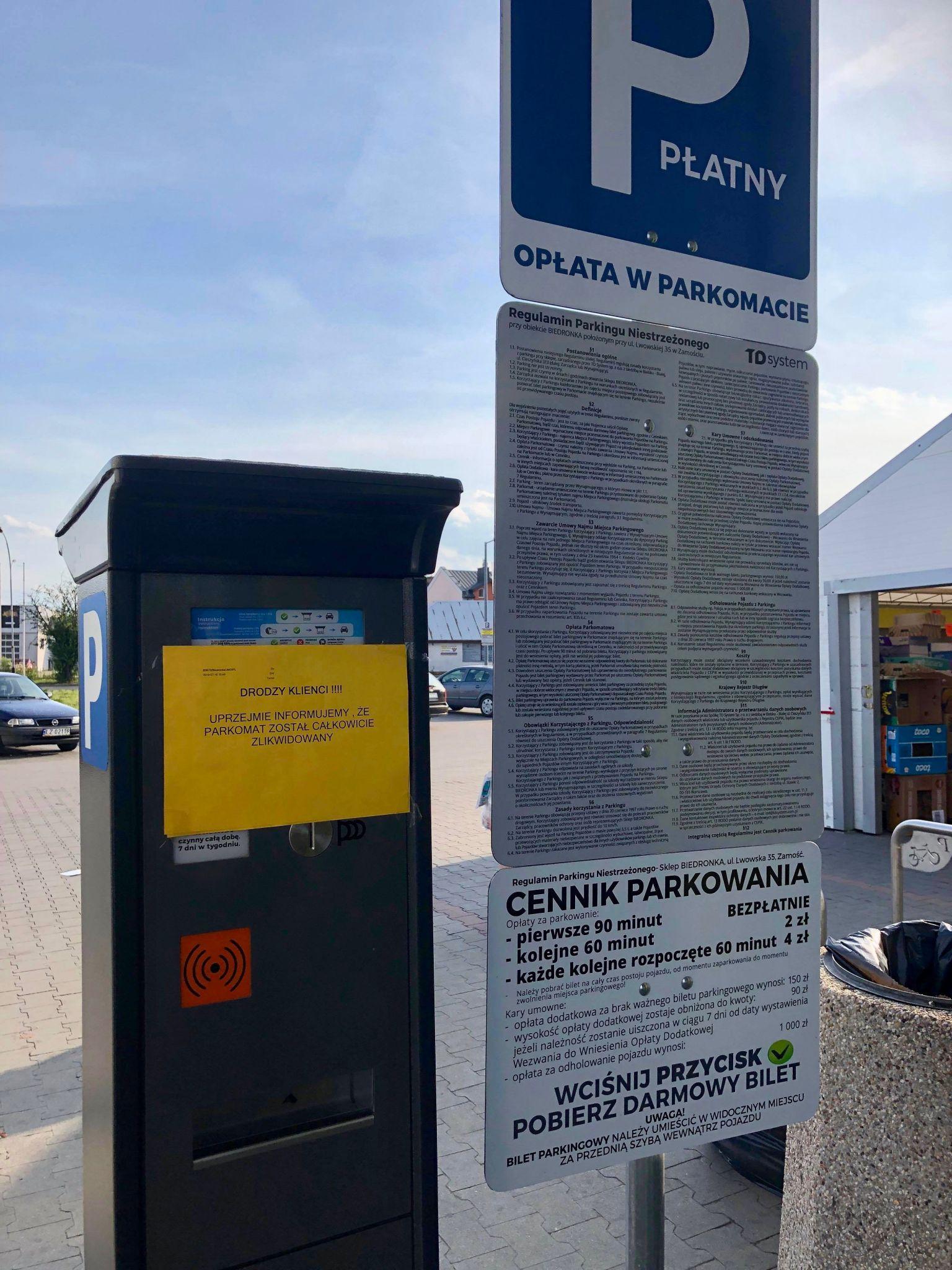 67307831 934922426847451 7982176829622452224 n Koniec kontrowersyjnego parkowania przy Biedronce
