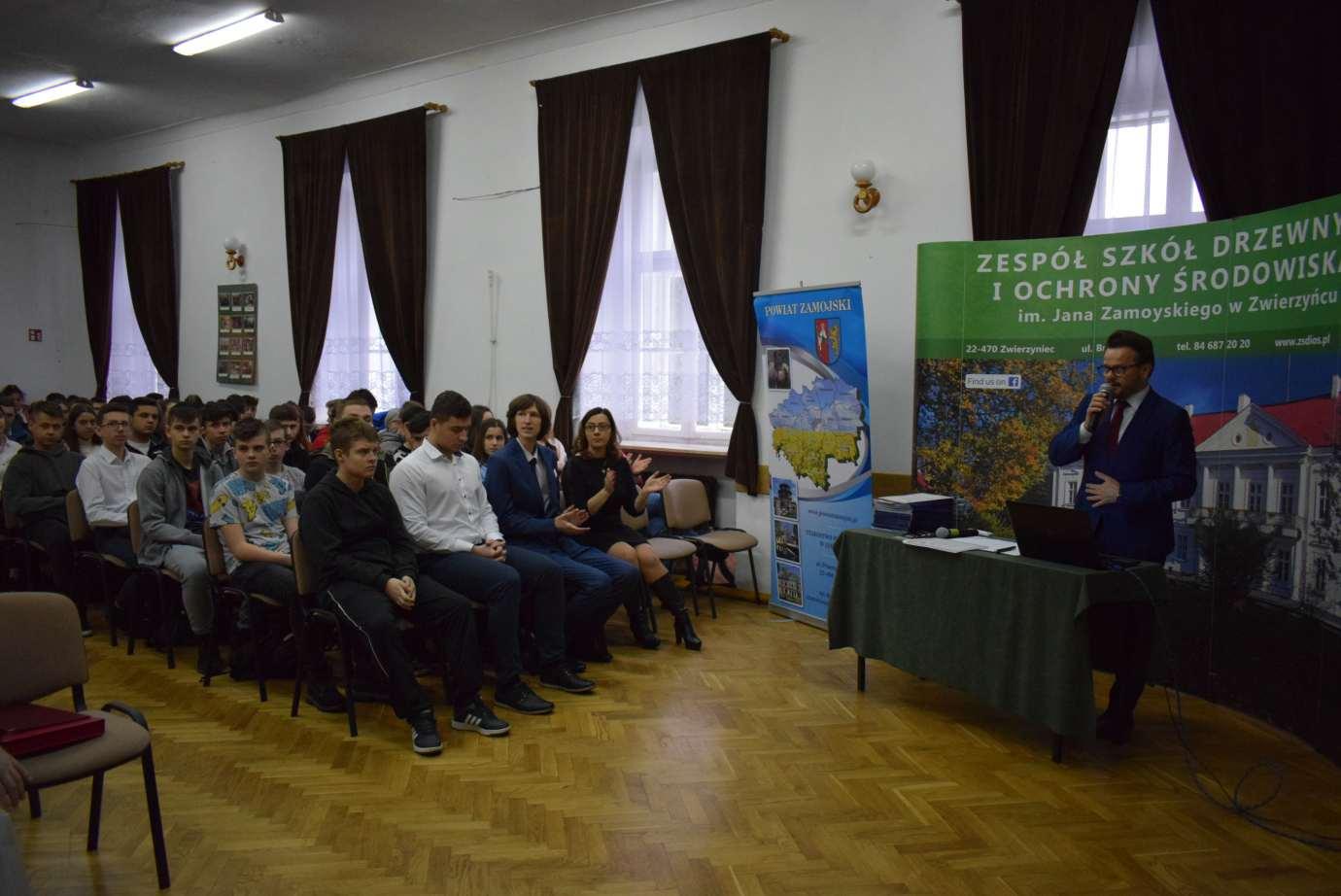 dsc 0727 Zespół Szkół Drzewnych i Ochrony Środowiska w Zwierzyńcu miał co świętować [ZDJĘCIA]