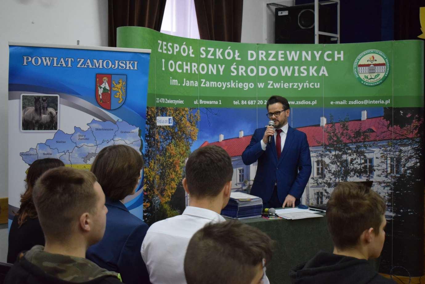 dsc 0735 Zespół Szkół Drzewnych i Ochrony Środowiska w Zwierzyńcu miał co świętować [ZDJĘCIA]