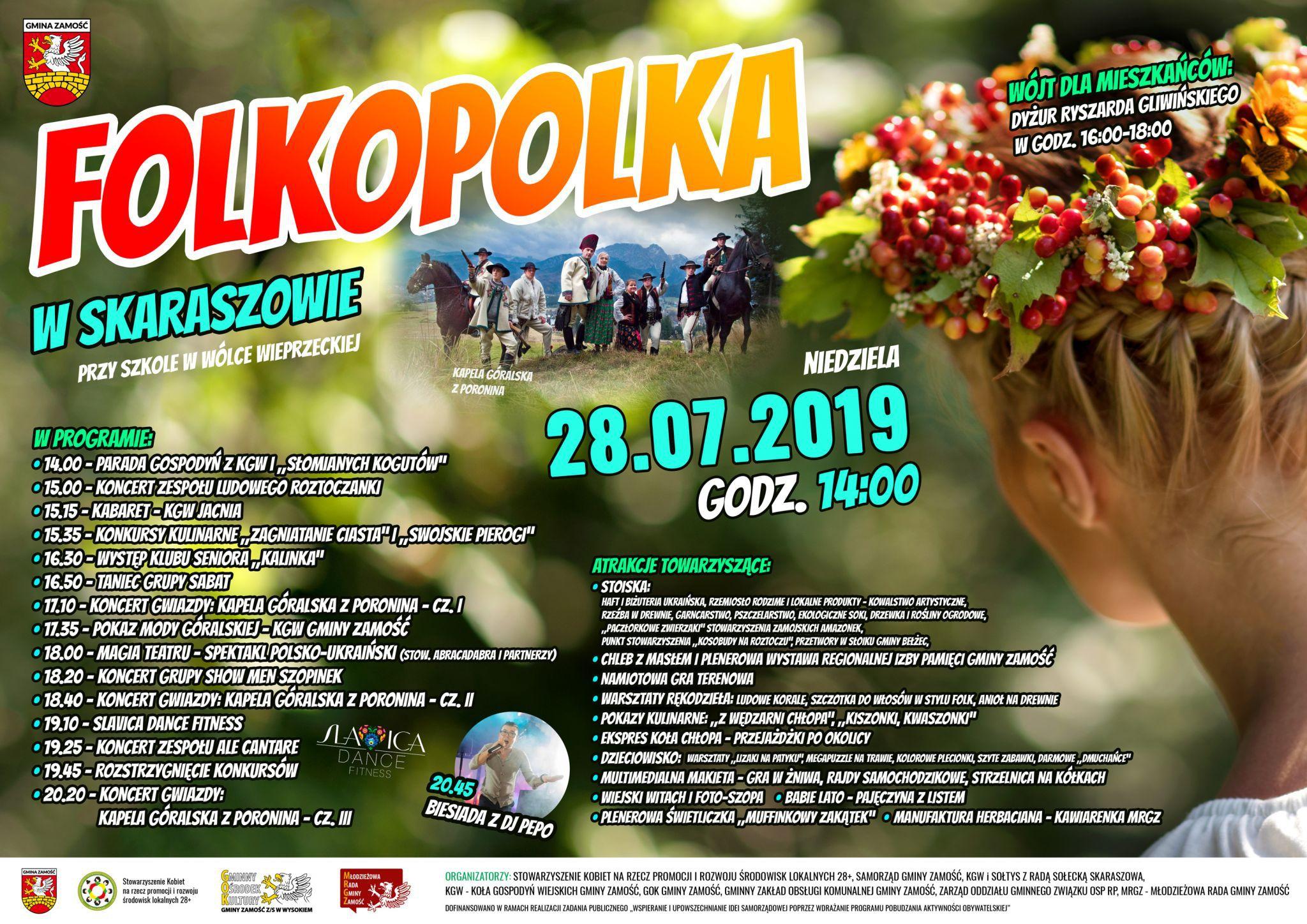 folkopolka 2019 Folkopolka - duża impreza folkowa. Publikujemy program