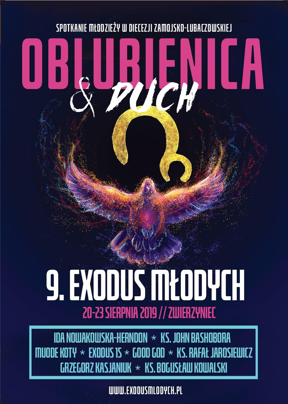 plakat 2019 9. Exodus Młodych - PROGRAM, szczegóły