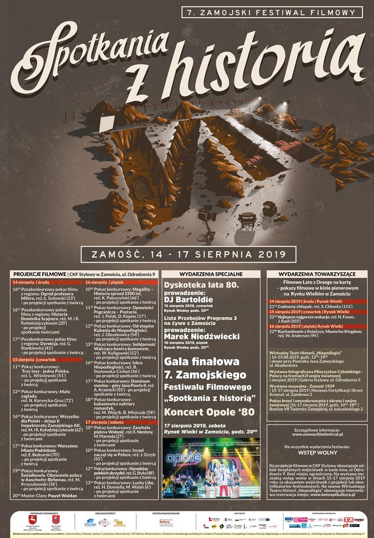 plakat kopia Bogactwo festiwalowych pokazów filmowych - wstęp bezpłatny