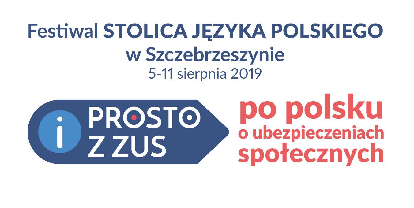 """sjp prosto z zus """"Prosto z ZUS"""" w Stolicy Języka Polskiego"""