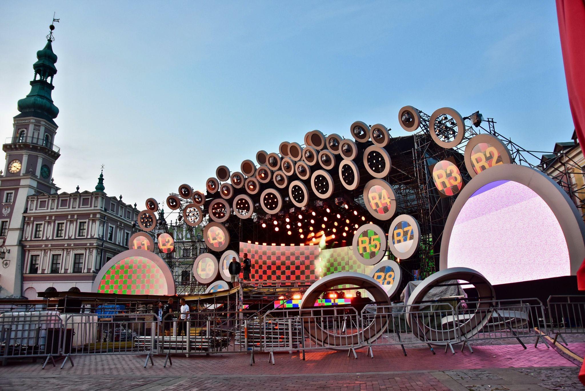 dsc 2966 Kolorowo na Rynku Wielkim - trwają próby oświetleniowe (zdjęcia)