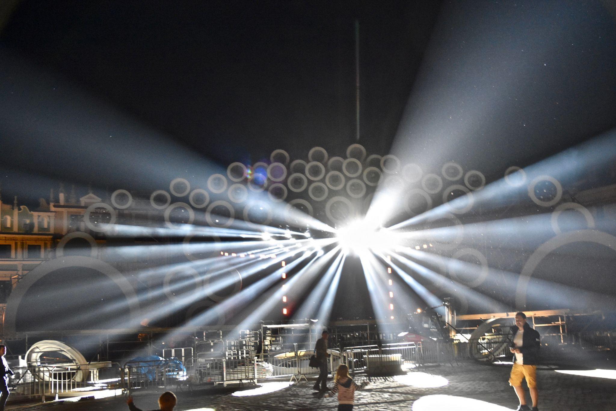 dsc 3016 Kolorowo na Rynku Wielkim - trwają próby oświetleniowe (zdjęcia)