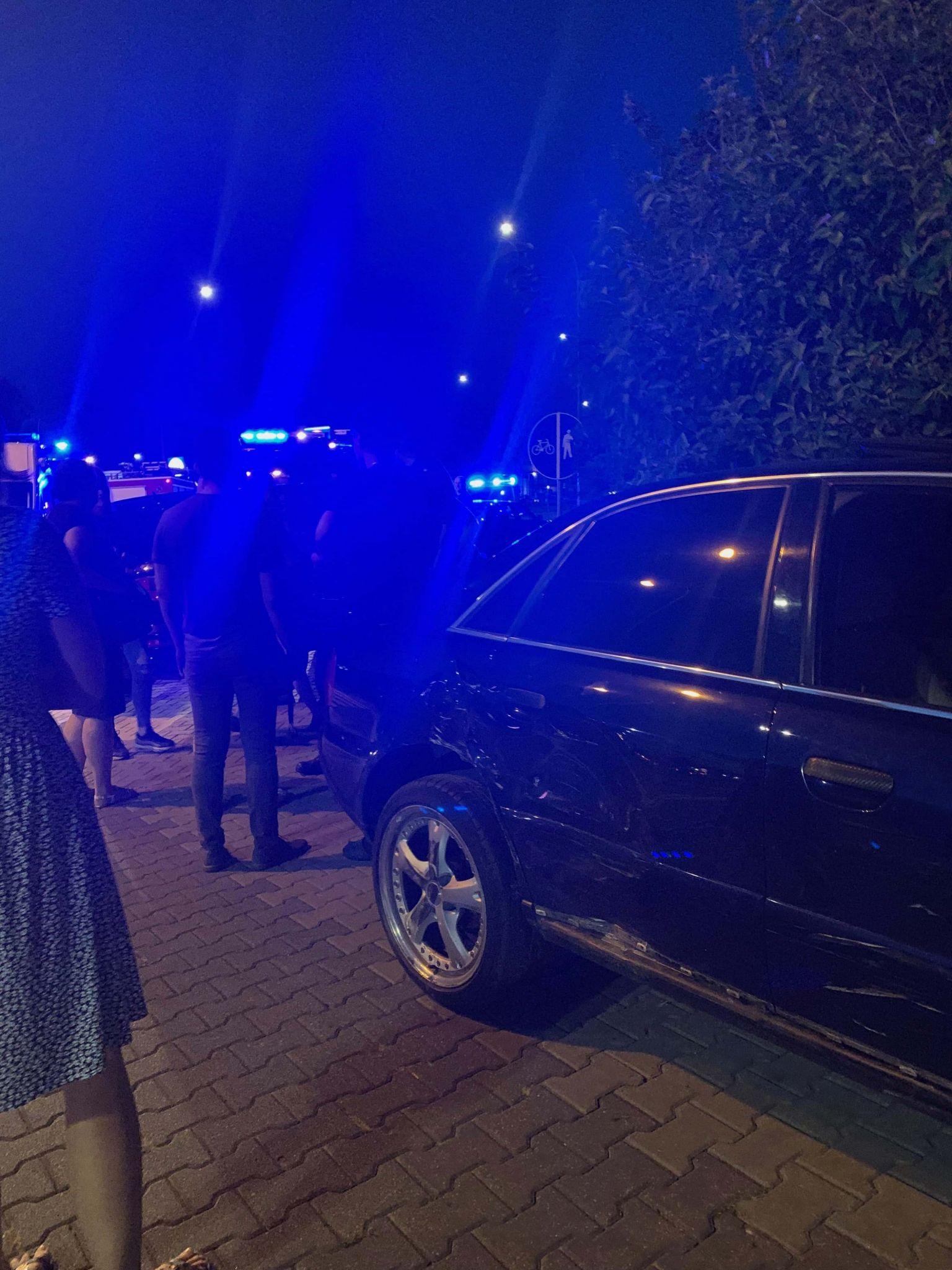 img 2534 Z ostatniej chwili. Kraksa dwóch aut marki Audi (zdjęcia)