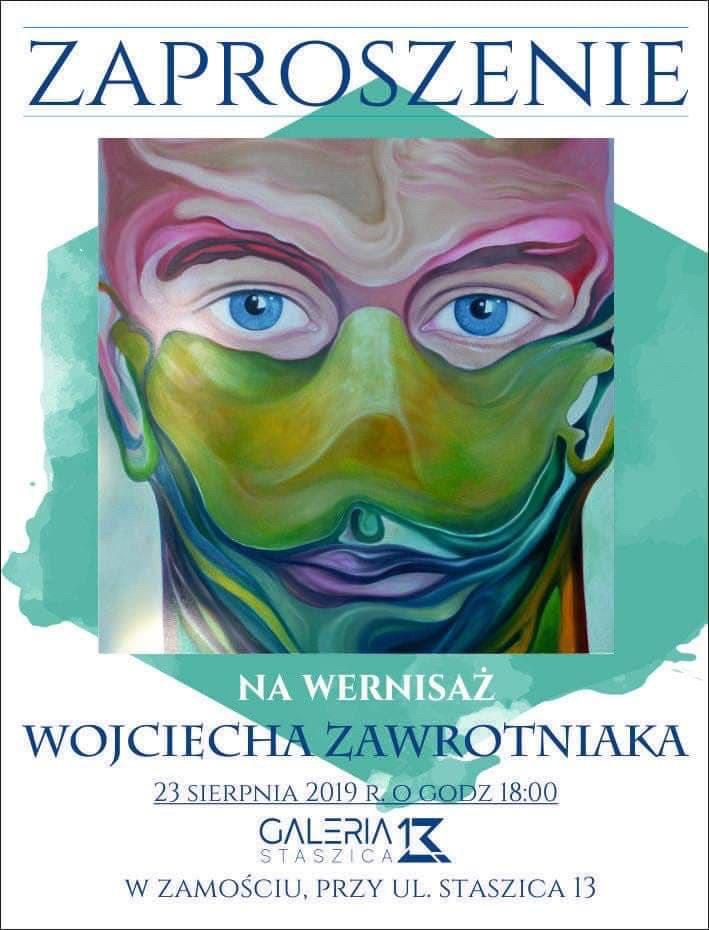 img 2710 Zamość: Wernisaż Wojciecha Zawrotniaka w Galerii Staszica 13