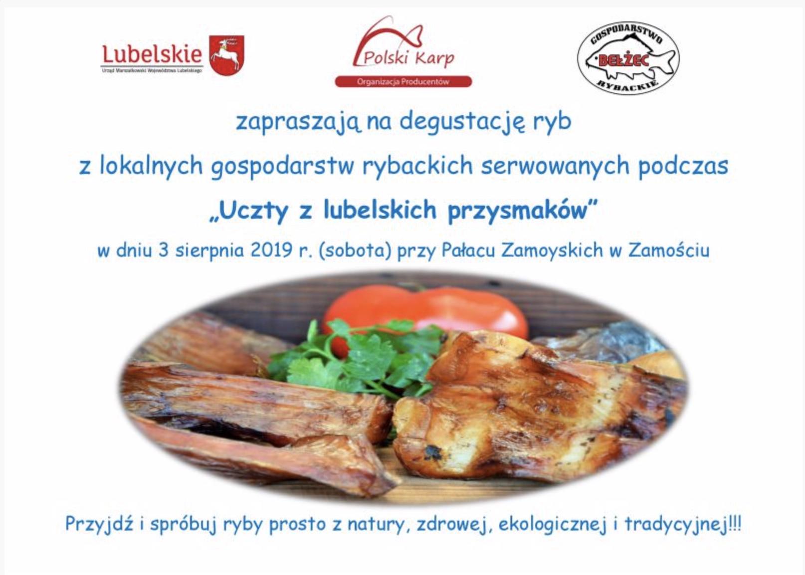 zrzut ekranu 2019 08 1 o 13 25 59 Smaki Regionów już w sobotę w Zamościu. Publikujemy program!