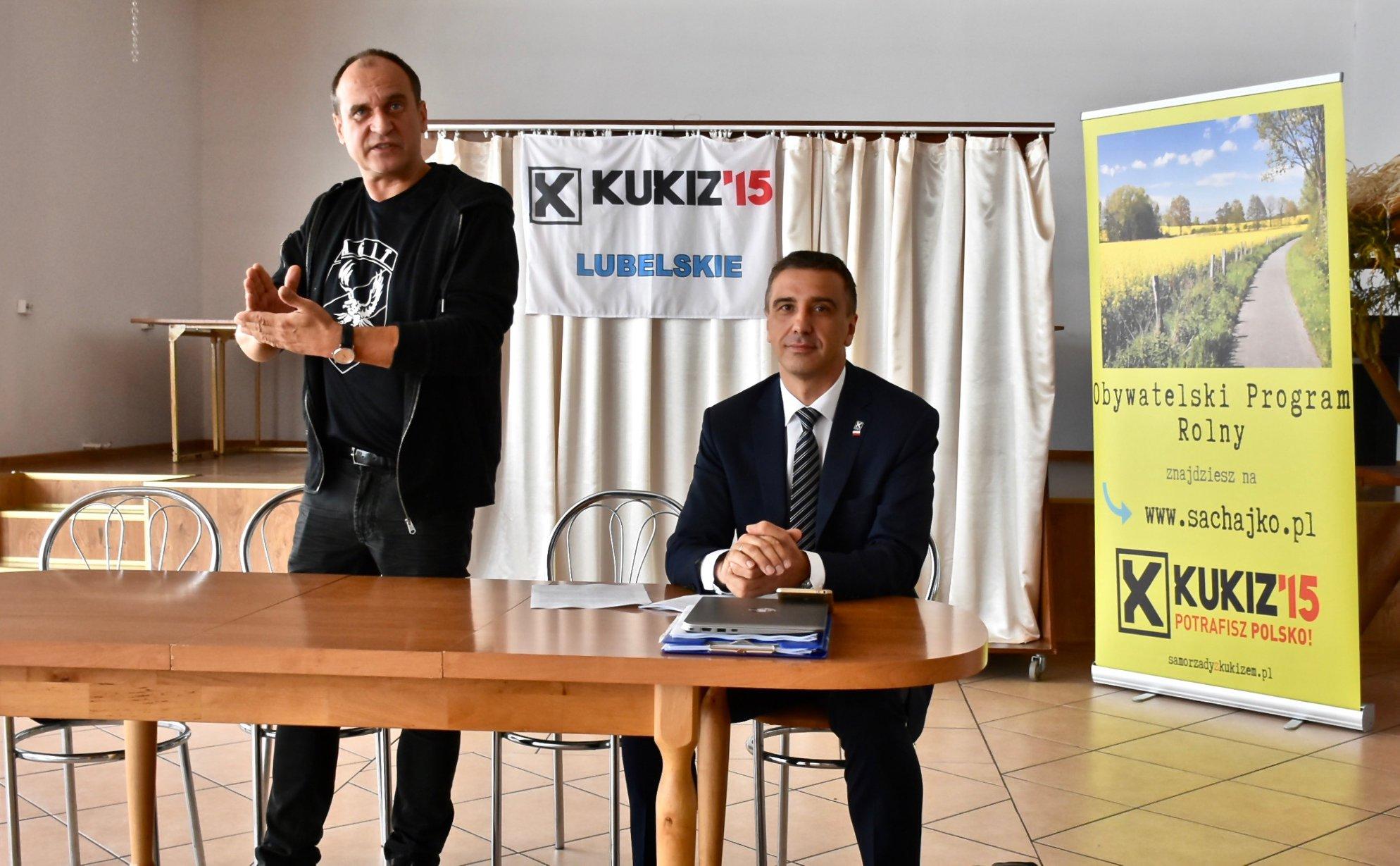 41257901 2210851965851595 253927868222930944 o ZAMOŚĆ/REGION: Otwarte spotkania z posłami Pawłem Kukizem i Jarosławem Sachajko