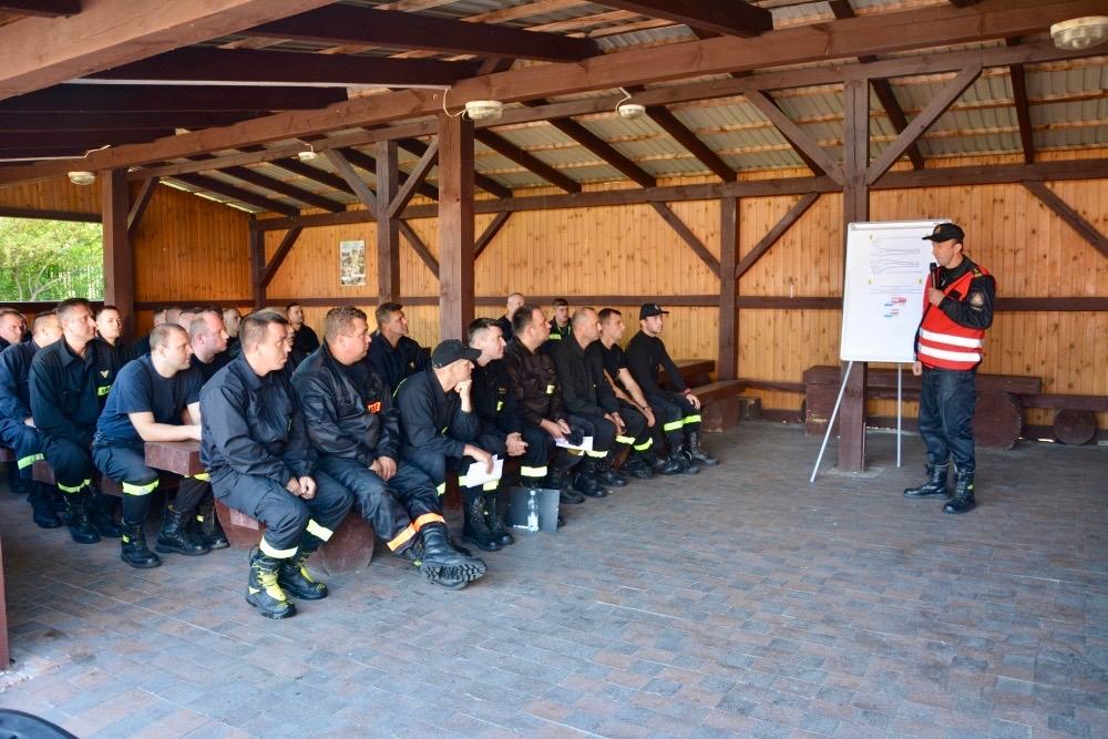 dsc 0019 Strażacy szkolili się w Nieliszu