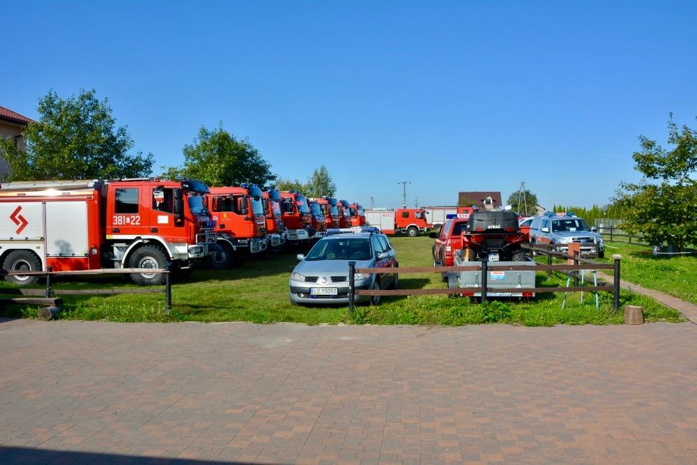 dsc 0022 Strażacy szkolili się w Nieliszu