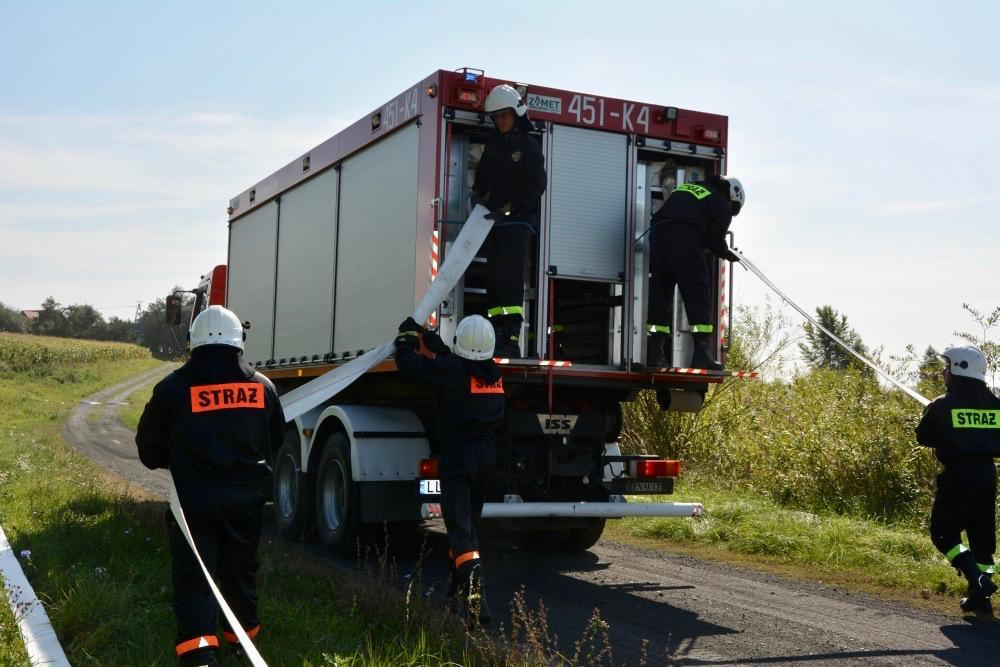 dsc 0052 Strażacy szkolili się w Nieliszu