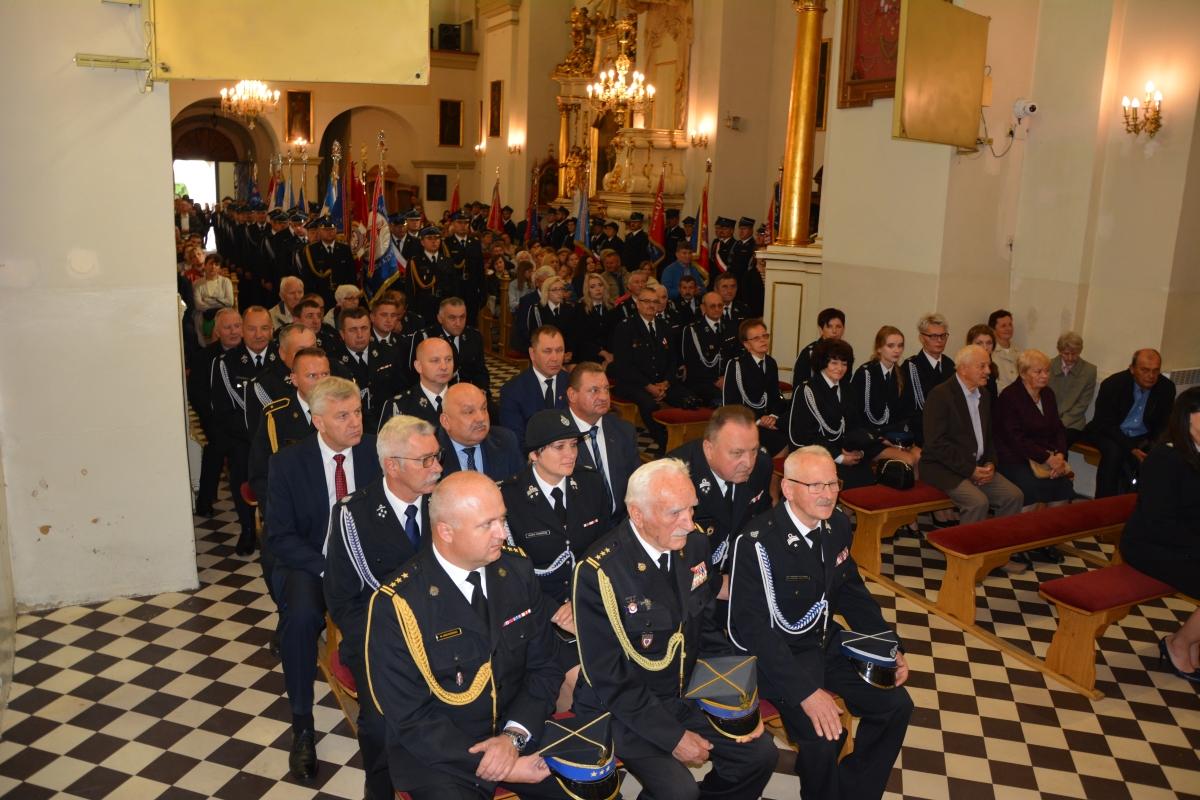 dsc 0067 1 Strażacy z Zamojszczyzny pielgrzymowali do Krasnobrodu [ZDJĘCIA]