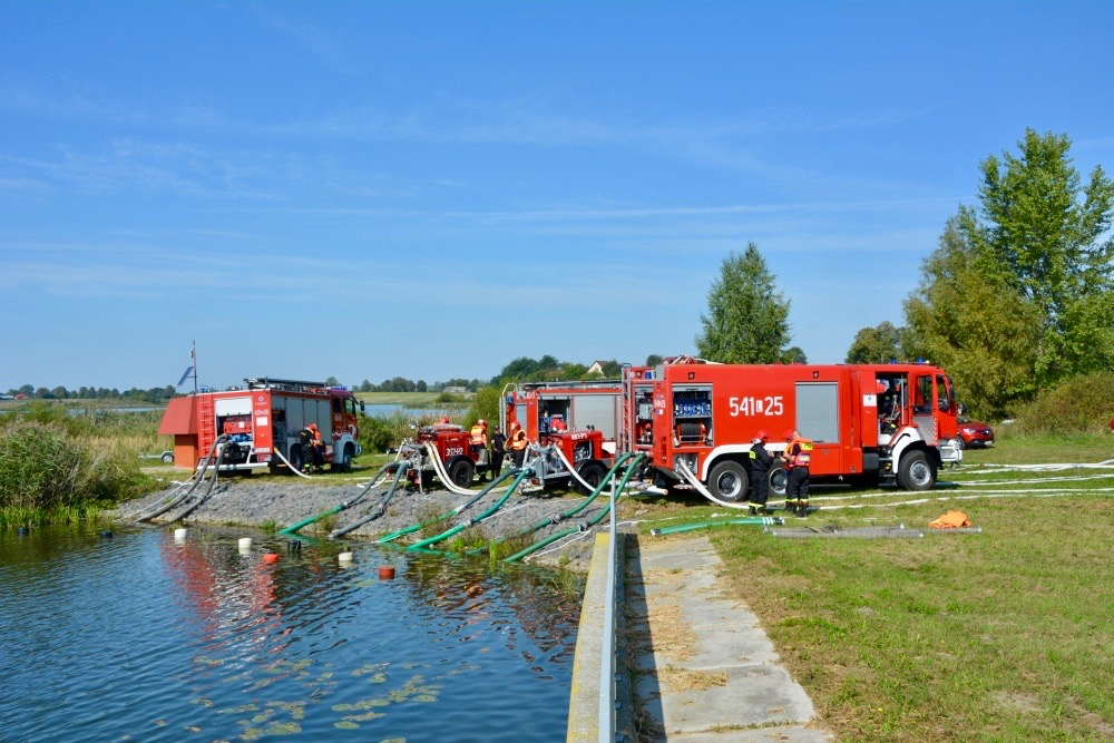 dsc 0074 Strażacy szkolili się w Nieliszu