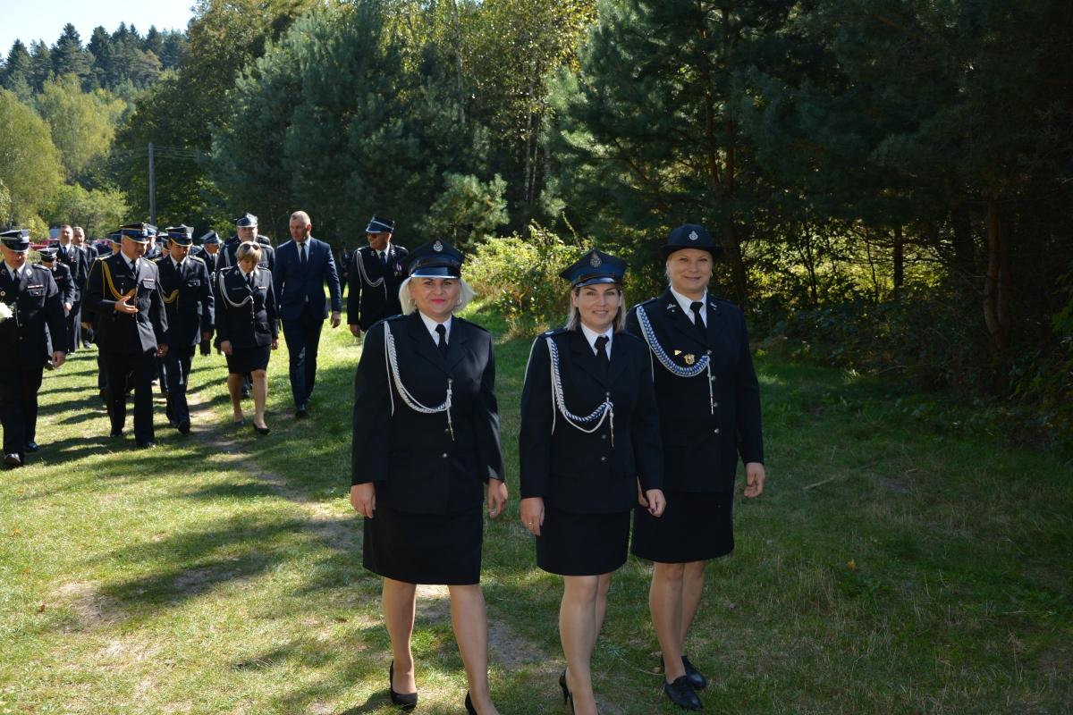 dsc 0086 Strażacy z Zamojszczyzny pielgrzymowali do Krasnobrodu [ZDJĘCIA]