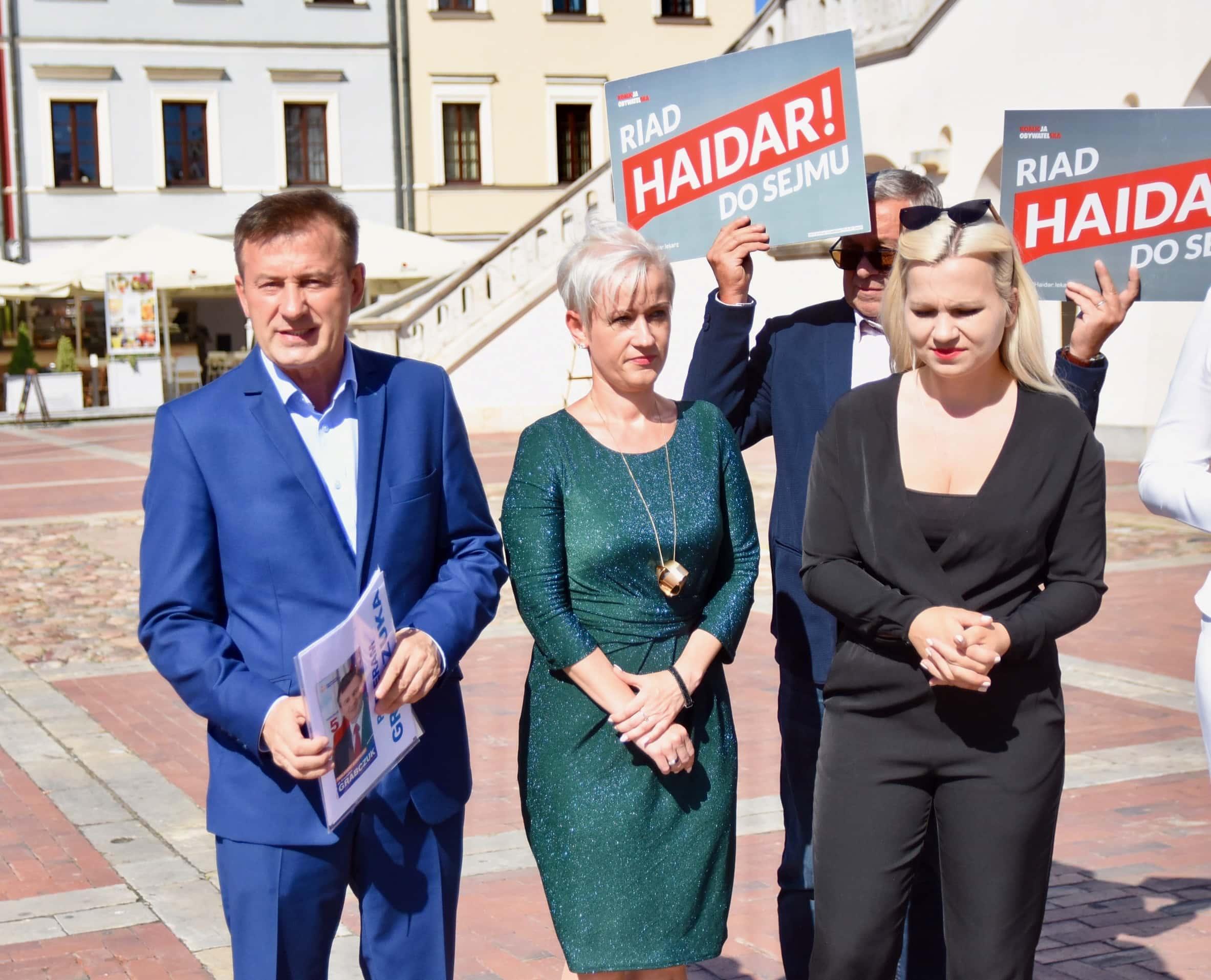 dsc 6586 Zamość: Koalicja Obywatelska przedstawiła kandydatów do sejmu z okręgu nr 7 [ZDJĘCIA, FILM]