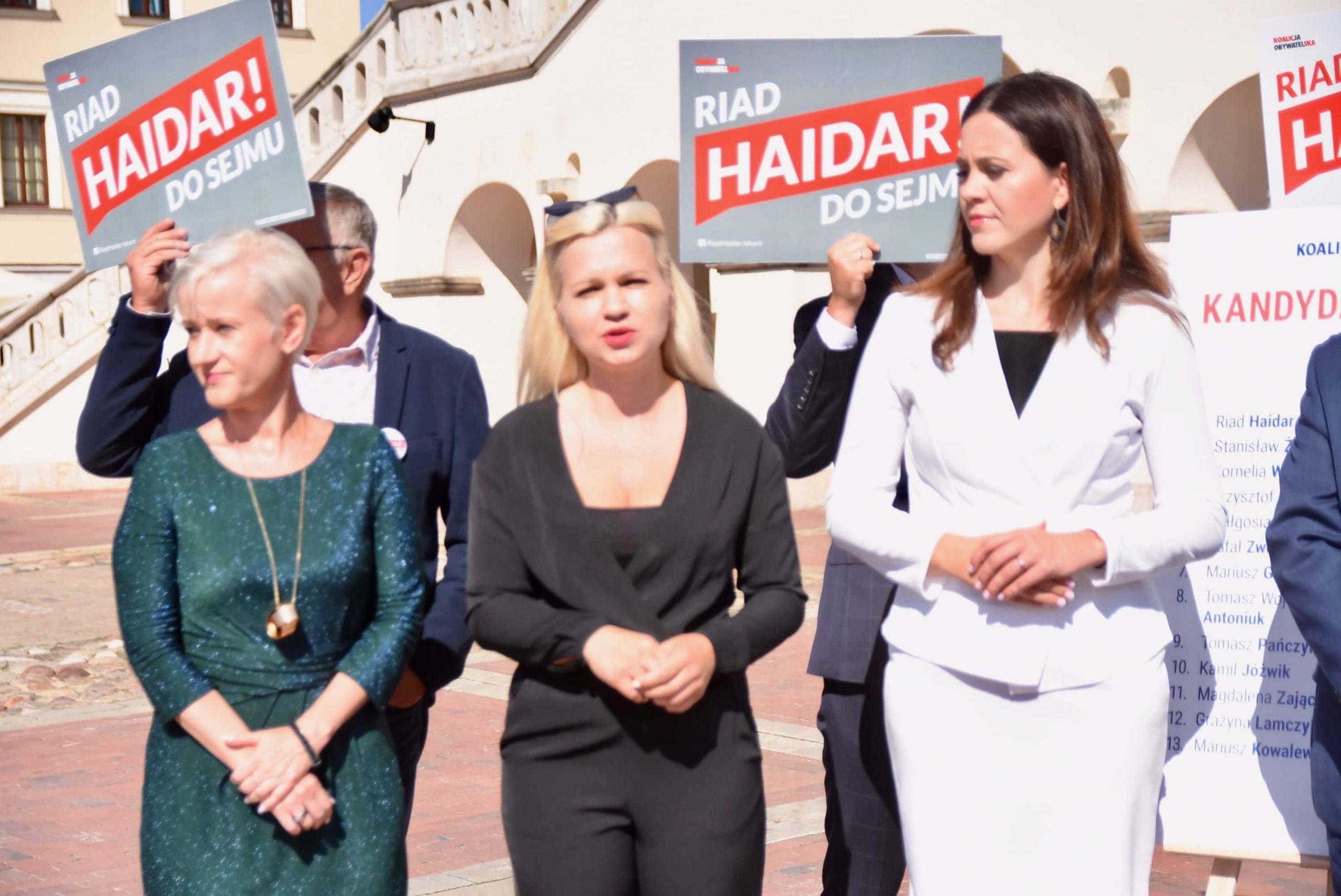 dsc 6588 scaled Zamość: Koalicja Obywatelska przedstawiła kandydatów do sejmu z okręgu nr 7 [ZDJĘCIA, FILM]