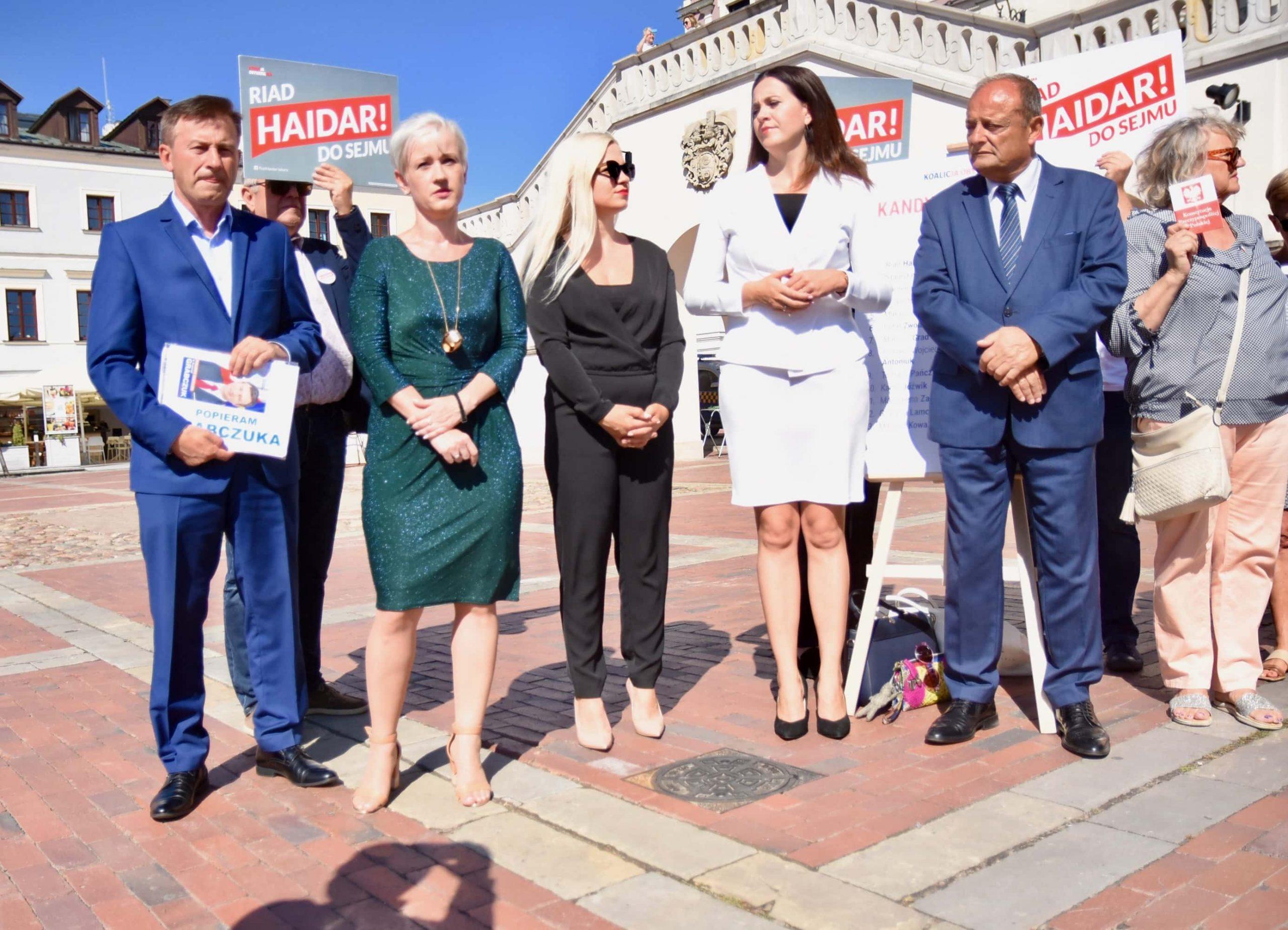 dsc 6595 scaled Zamość: Koalicja Obywatelska przedstawiła kandydatów do sejmu z okręgu nr 7 [ZDJĘCIA, FILM]