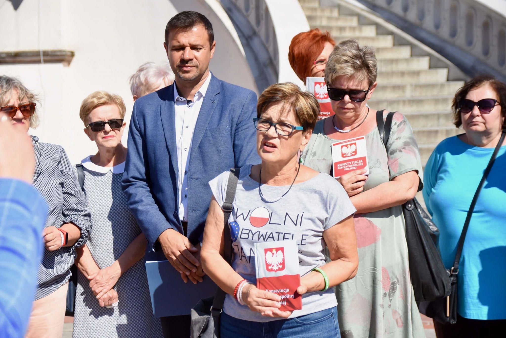 dsc 6598 Zamość: Koalicja Obywatelska przedstawiła kandydatów do sejmu z okręgu nr 7 [ZDJĘCIA, FILM]