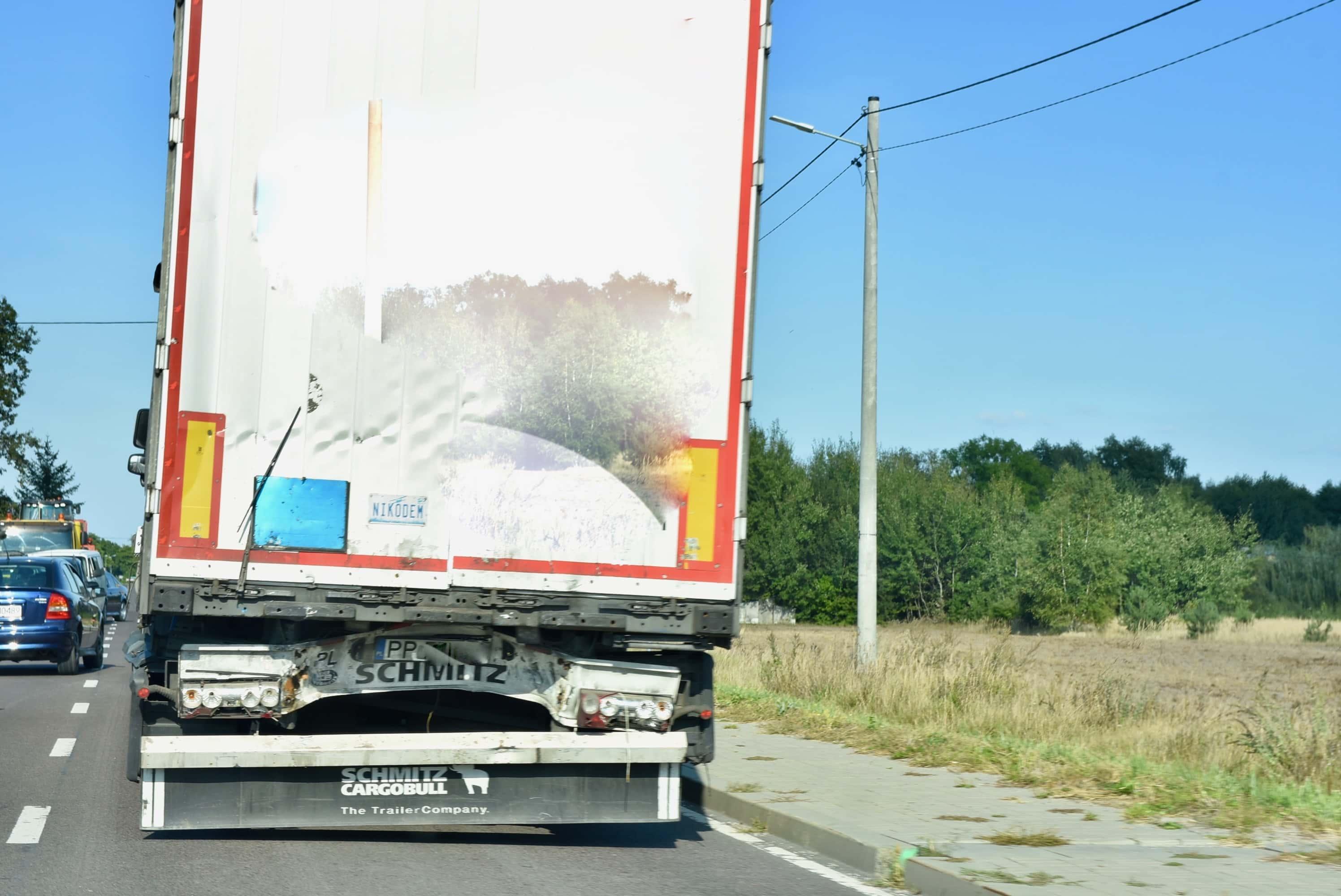 dsc 7063 Z ostatniej chwili. Zderzenie dwóch ciężarówek (zdjęcia)