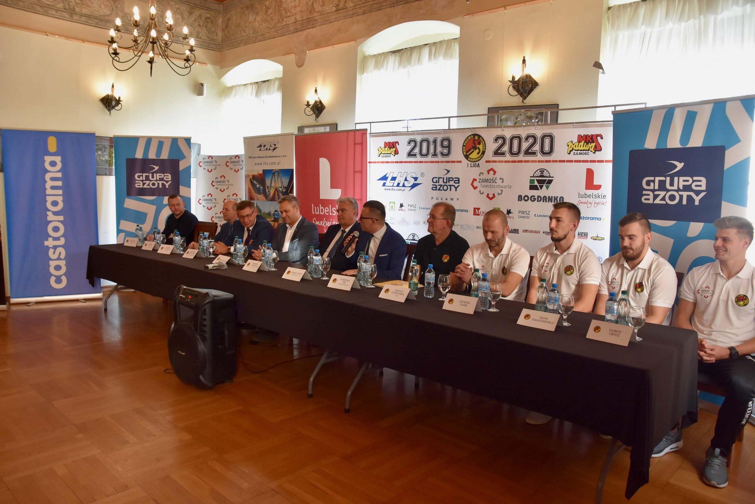 dsc 7934 scaled Sponsorzy, samorządowcy, działacze, zawodnicy na konferencji Padwy Zamość (film i zdjęcia)