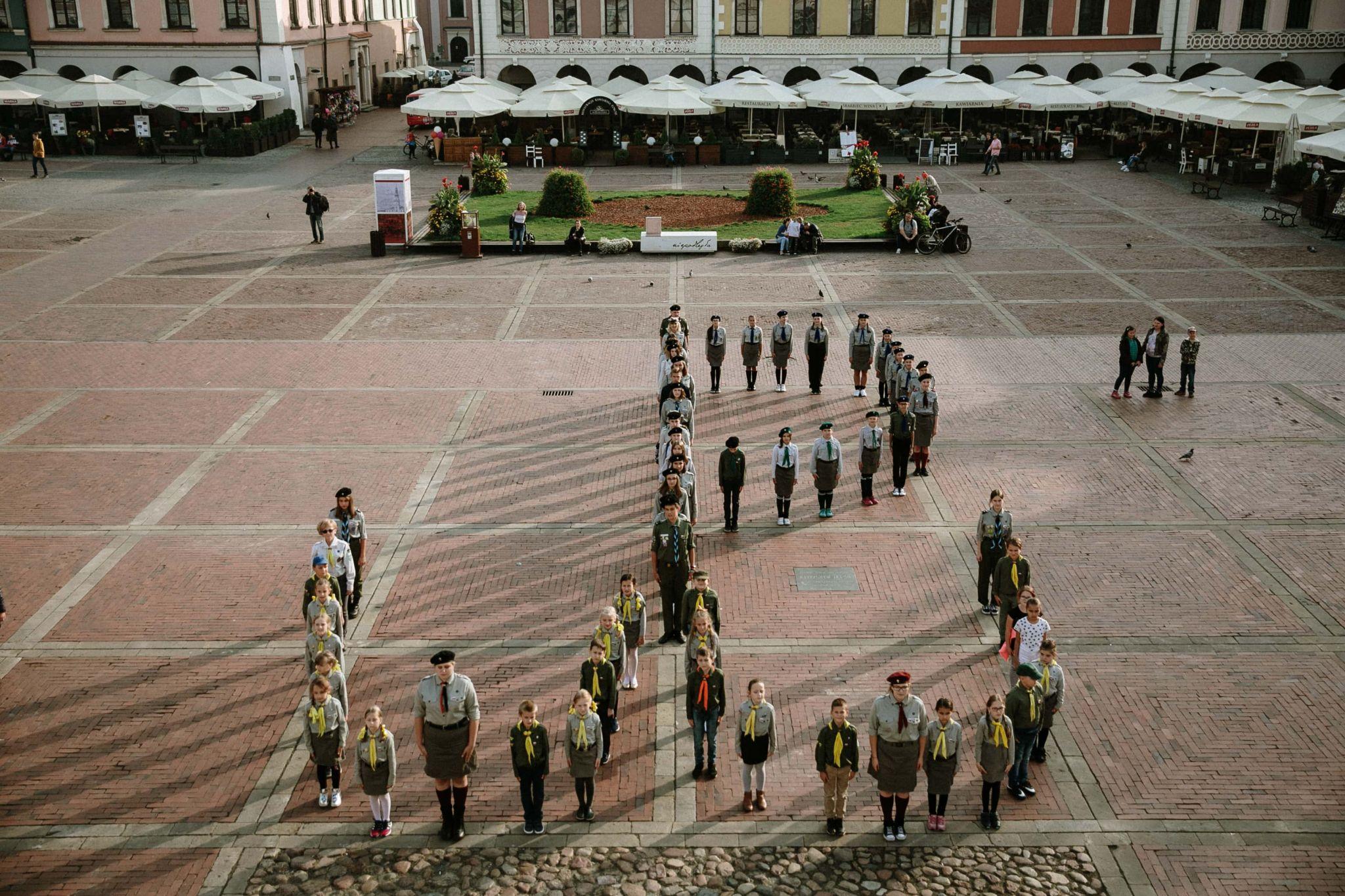 fot k chmiel Znak Polski Walczącej jest symbolem pamięci