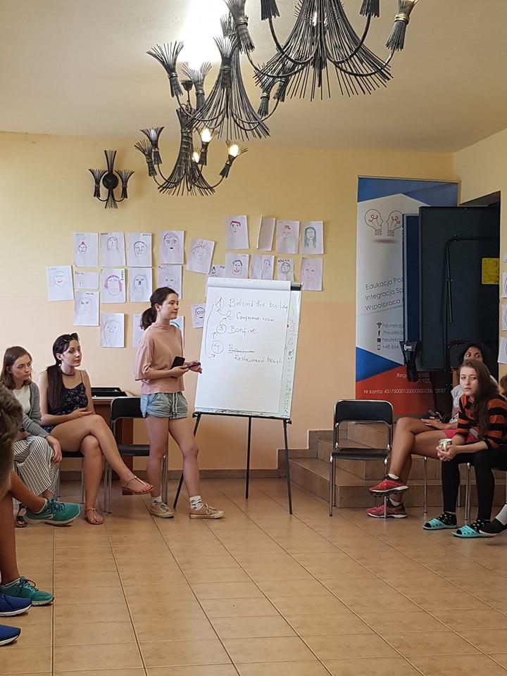 heur 5 Zamość: W międzynarodowym gronie uczą się zarządzać czasem
