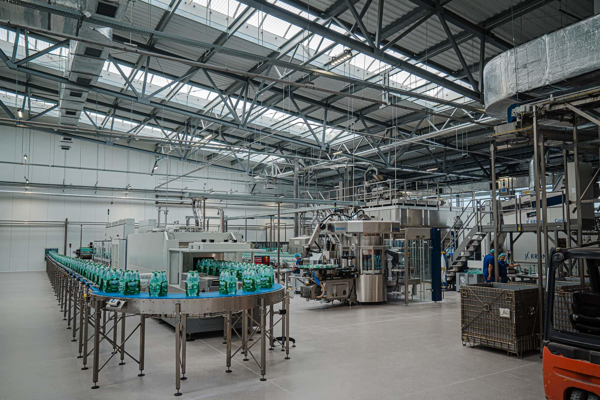 rozlewnia nativiana linia produkcyjna Rodowita z Roztocza. Inwestycja za 75 mln zł. (Dużo zdjęć)