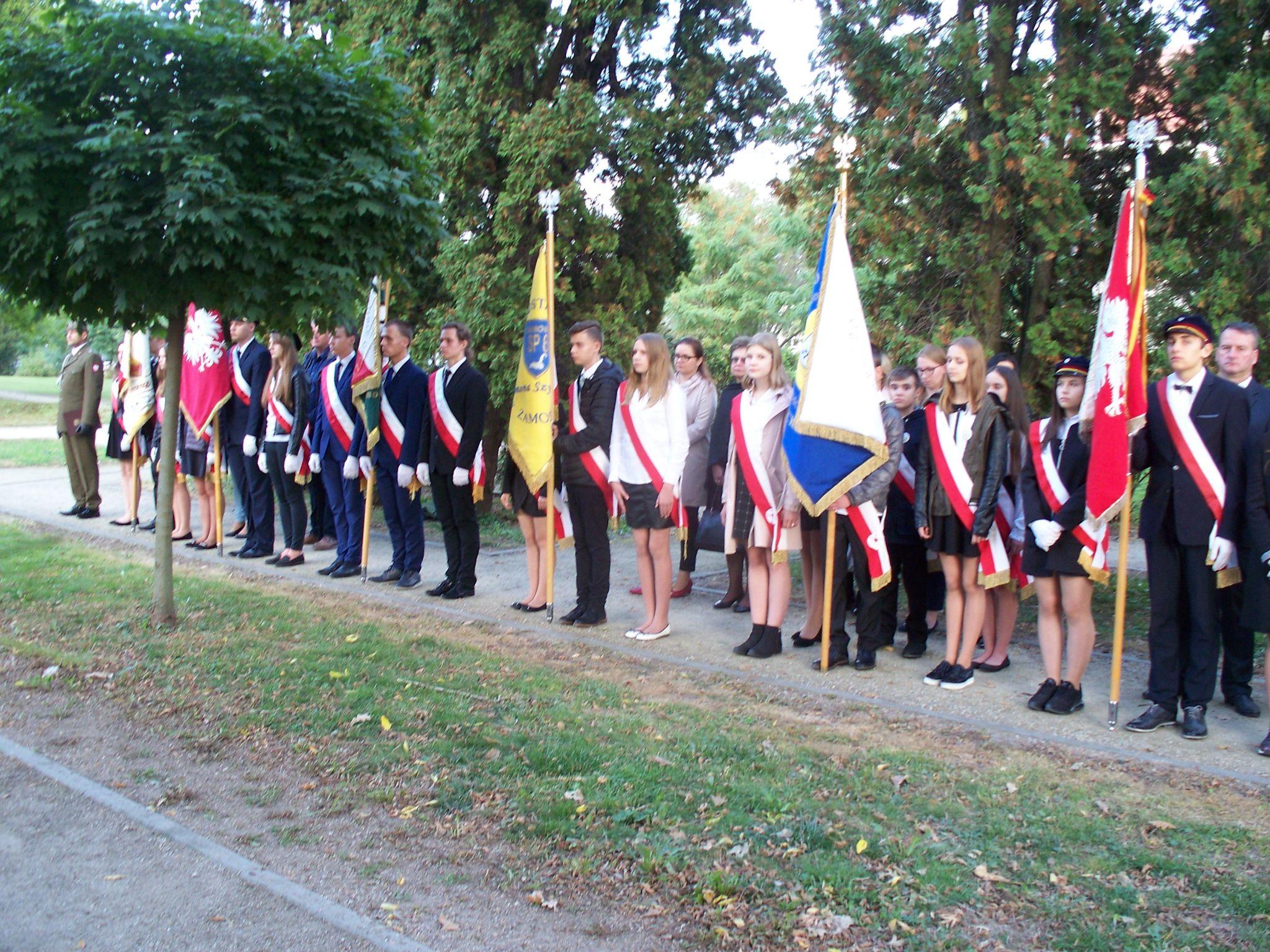 100 9669 Zamość: Obchody 80. rocznicypowstania Polskiego Państwa Podziemnego [ZDJĘCIA]