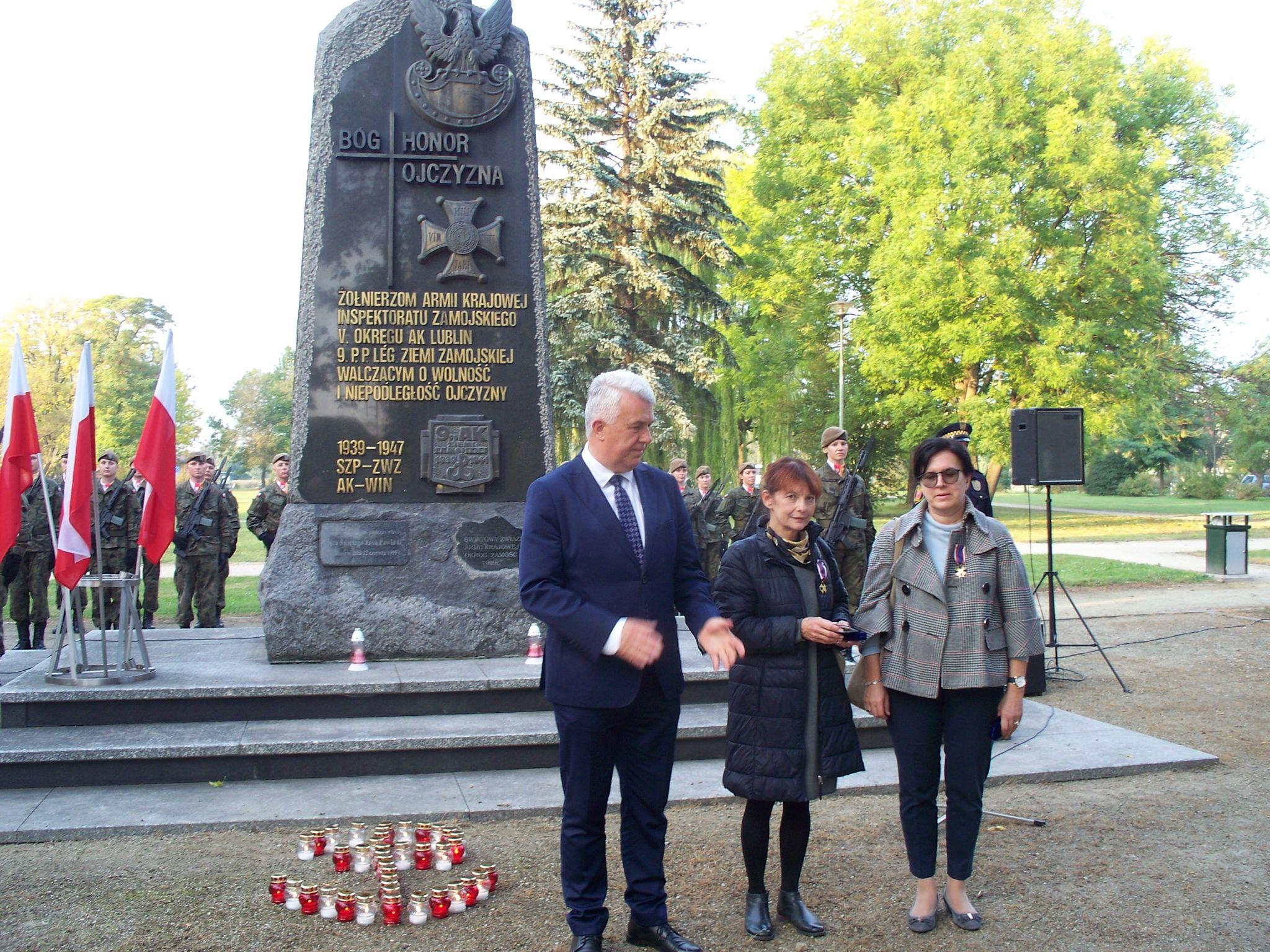 100 9686 Zamość: Obchody 80. rocznicypowstania Polskiego Państwa Podziemnego [ZDJĘCIA]