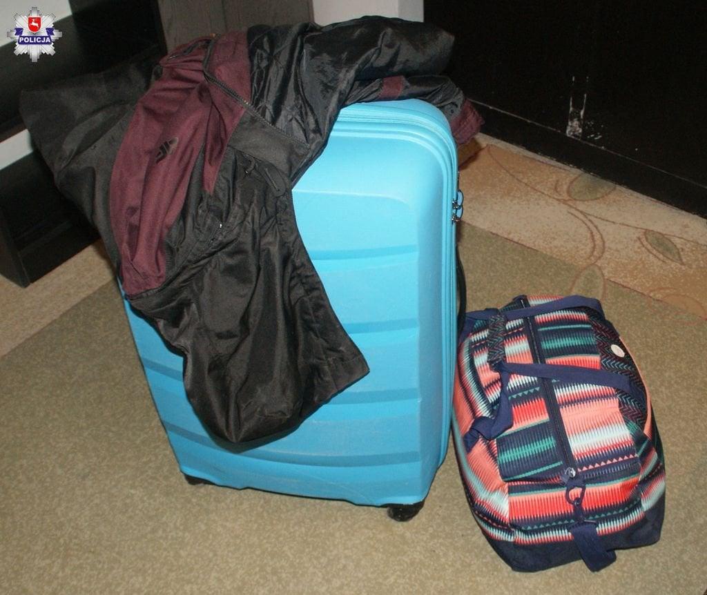 361 156340 Zamość: Ktoś zgubił bagaże i kurtkę