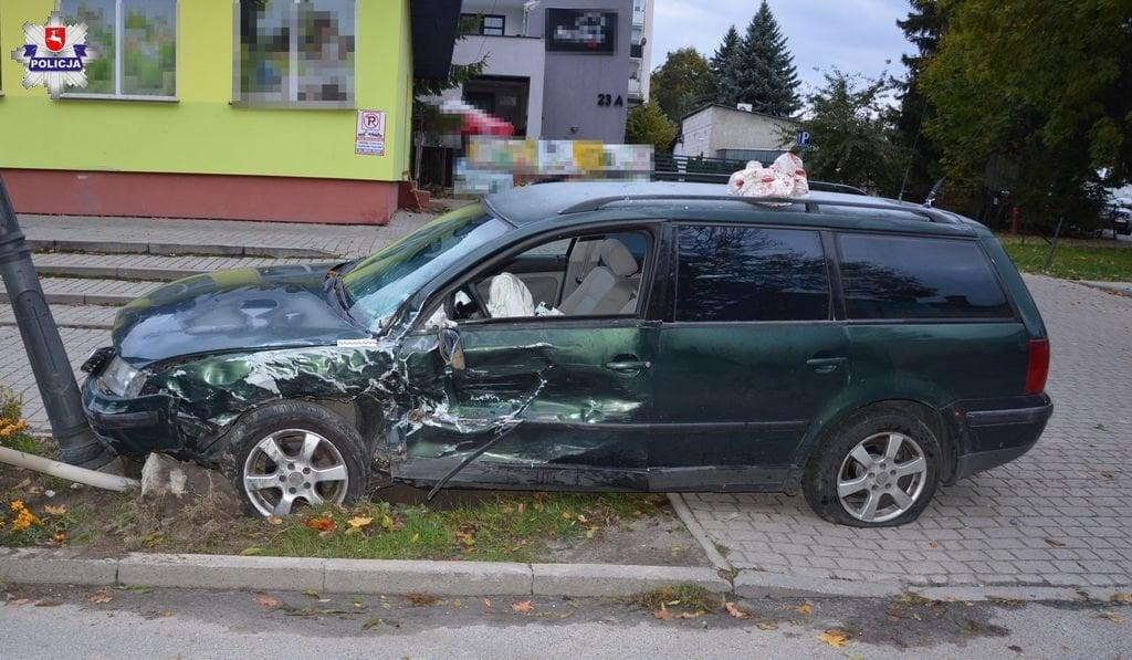 68 155890 Wypadek w Szczebrzeszynie. 30-latek w szpitalu