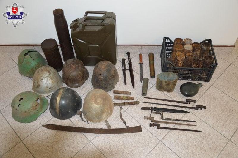 68 155913 Nielegalnie poszukiwał zabytków, miał też amunicję