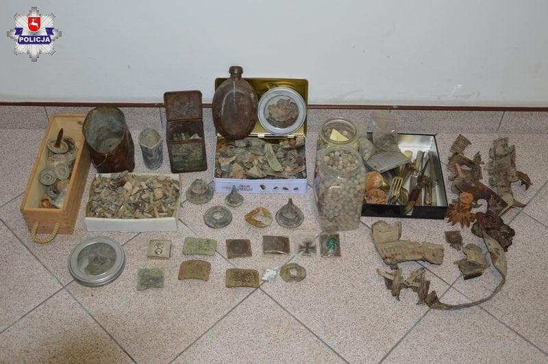 68 155914 Nielegalnie poszukiwał zabytków, miał też amunicję