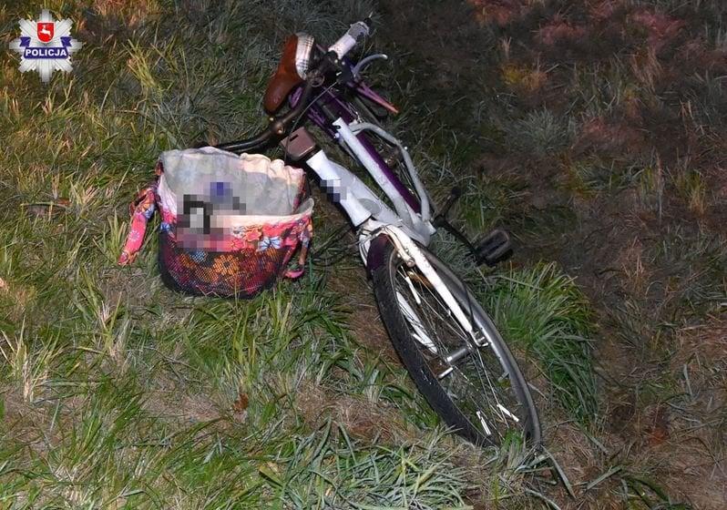 68 156310 REGION: Potrącenie rowerzystki